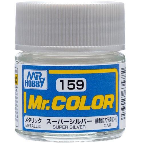 GNZ-C159: C159 Metallic Super Silver 10ml