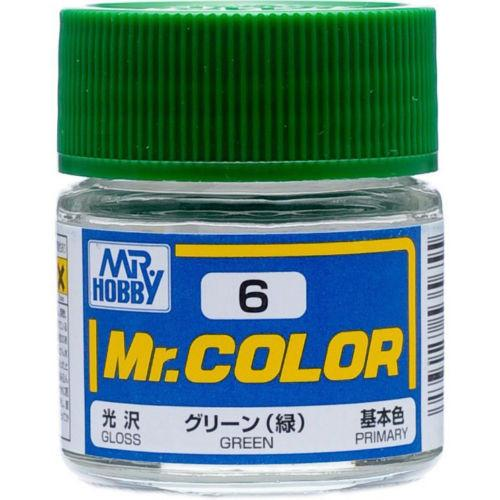 Mr. Color 6 - Green (Gloss/Primary)
