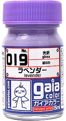 Gaia Base Color 019 Gloss Lavender 15ML
