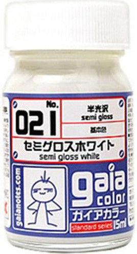 Gaia Base Color 021 Semi-Gloss White 15ML