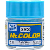 GNZ-C323: C323 Gloss Light Blue 10ml