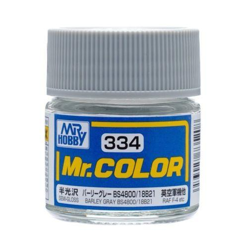 GNZ-C334: C334 Semi Gloss Barley Gray BS4800 18B21 10ml