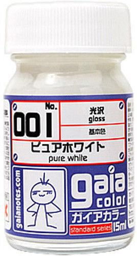 Gaia Base Color 001 Gloss Pure White 15ML