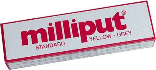 Milliput Yellow Grey (Standard) Milliput Epoxy Putty 4oz (113.4 g)