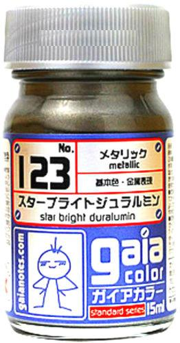 Gaia Metallic Color 123 Star Bright Duralumin 15ML