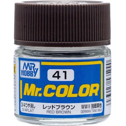 GNZ-C41: C41 Flat Red Brown 10ml