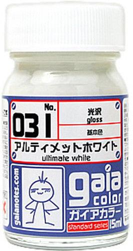 Gaia Base Color 031 Gloss Ultimate White 15ML