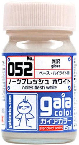 Gaia Base Color 052 Notes Flesh White 15ML