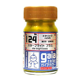 Gaia Metallic Color 124 Star Bright Brass 15ML