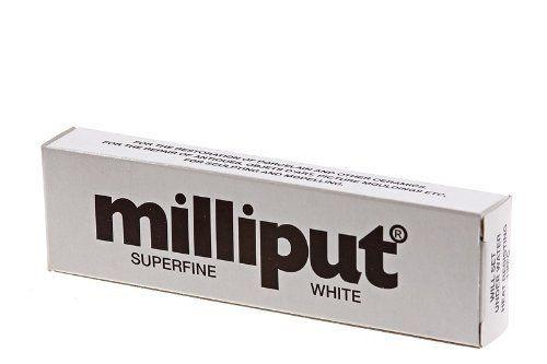 SUPERFINE WHITE - Milliput 2-Part Epoxy Putty #506 - 4 oz. Set