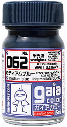 Gaia Base Color 062 Medium Blue 15ML