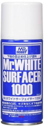 GSI Creos Gunze MR Hobby B511 Mr. White Surfacer 1000 Primer Spray