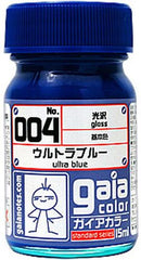 Gaia Base Color 004 Gloss Ultra Blue 15ML