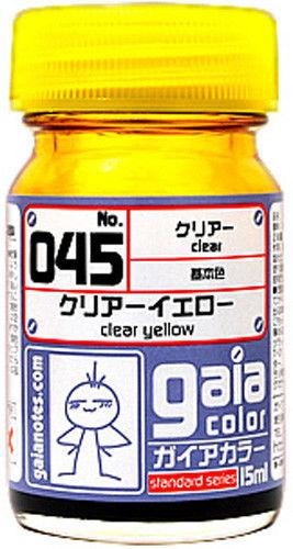 Gaia Clear Color 045 Clear Yellow 15ML