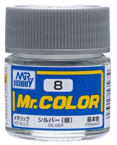 C8 Metallic Silver 10ml