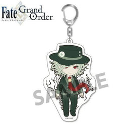 Pic-Lil! Fate/Grand Order Trading Acrylic Keychain 4 Avenger Gankutsuou Edmond