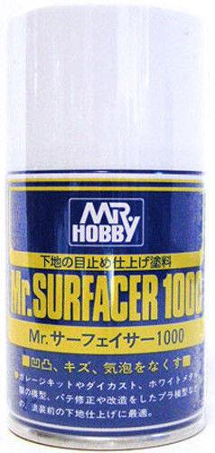 Mr. Hobby Mr. Surfacer 1000 Spray 100ml B505 Model Kit Paint Can GSI