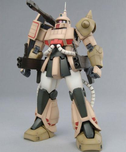 "Zaku Cannon ""Mobile Suit Gundam"", Bandai MG 1/100"