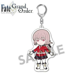 Pic-Lil Fate/Grand Order Trading Acrylic Keychain Berserker Florence Nightingale