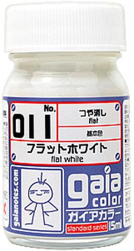 Gaia Base Color 011 Flat White 15ML
