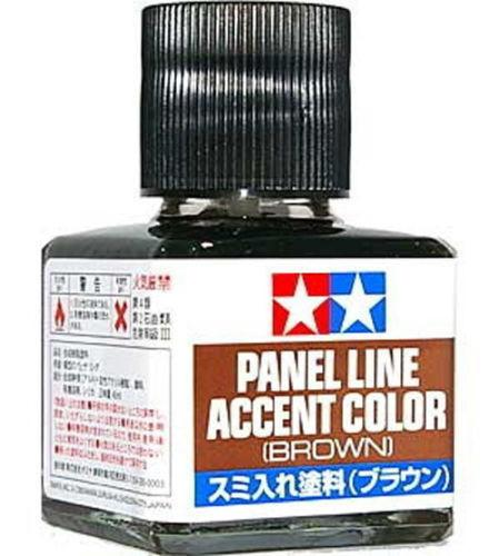 Tamiya 40ML Panel Line Accent Color Paint Wash Brown