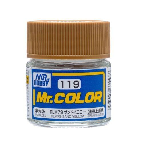 GNZ-C119: C119 Semi Gloss RLM76 Sand Yellow10ml