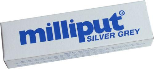 MILLIPUT SILVER GREY Epoxy Putty 113g pack