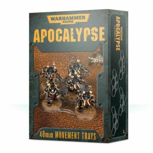 Warhammer 40k: Apocalypse 40mm Movement Trays