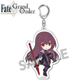 Pic-Lil Pikuriru Fate/Grand Order Trading Acrylic Keychain Vol 2 Lancer Scathach