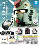 Gashapon Exceed Model Gundam Head Collection 2