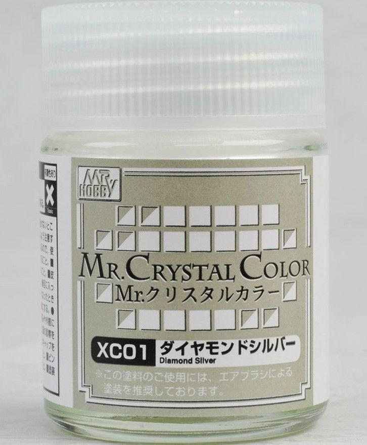 Mr Crystal Color - Diamond Silver