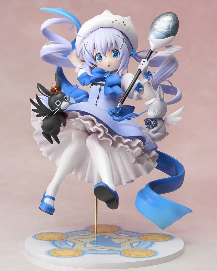 Magical Girl Chino 1/7 Scale Figure (Re-Run) - Is The Order A Rabbit??