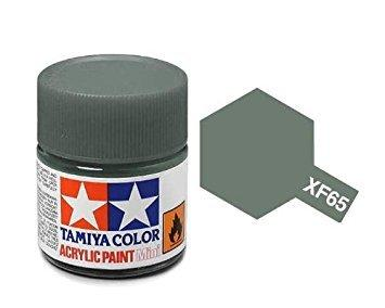Tamiya Color Field Gray Mini Acrylic Matte Finish XF-65