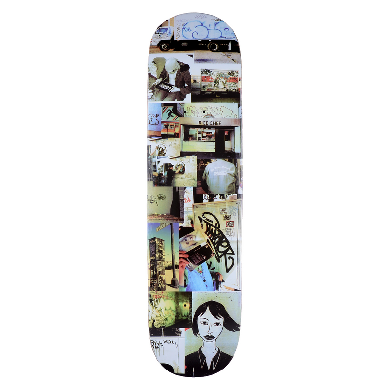 GX1000 Graffiti Deck 8.25