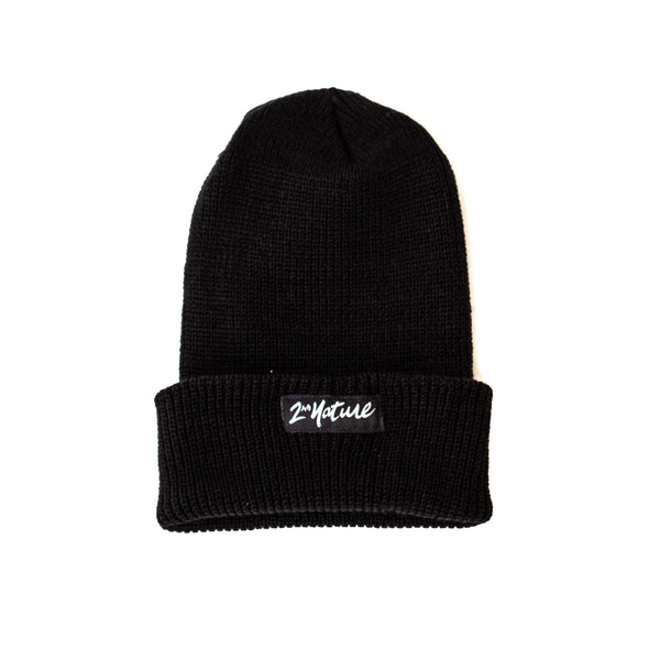 2nd Nature OG Logo Beanie (Black)