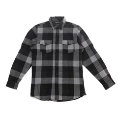 2nd Nature Flannel Black/Grey