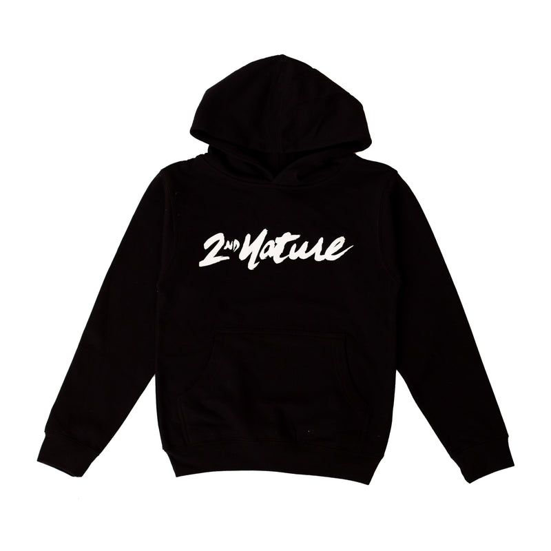 2nd Nature OG Logo Youth Hoodie (Black)