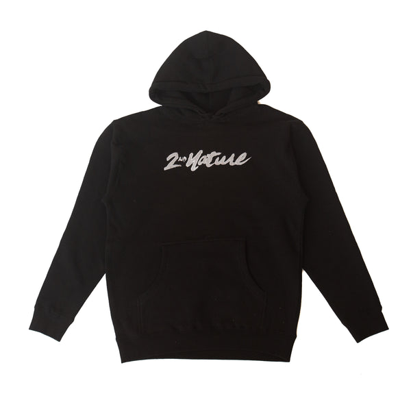 2nd Nature Embroidered OG Logo Pullover (Black)