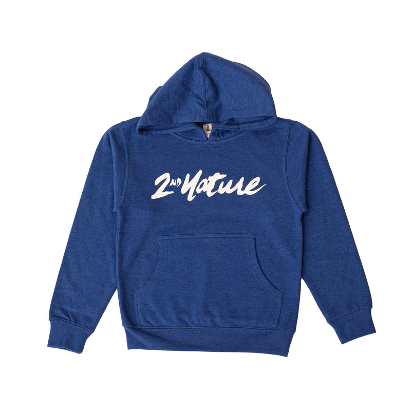2nd Nature OG Logo Youth Hoodie (Royal)