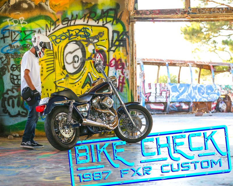Bike Check - Rob's 1987 FXRC Blue Frame