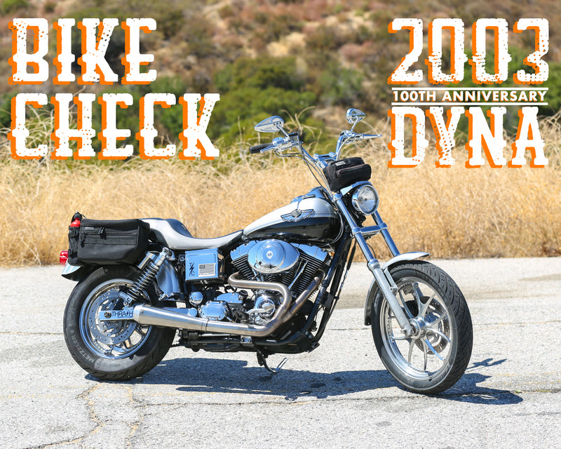 Bike Check - Rob's 2003 100th Anniversary Dyna