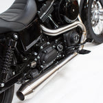 OG Stainless Exhaust w/ Removable Baffle & End Cap - FXR