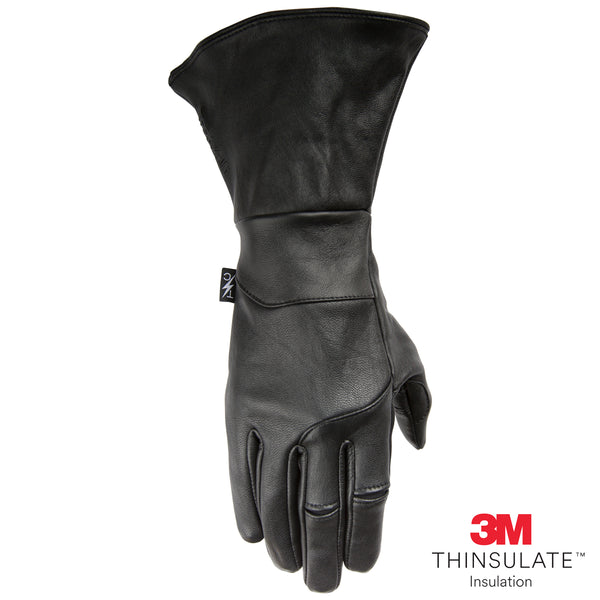 Insulated Gauntlet Siege Glove - Black