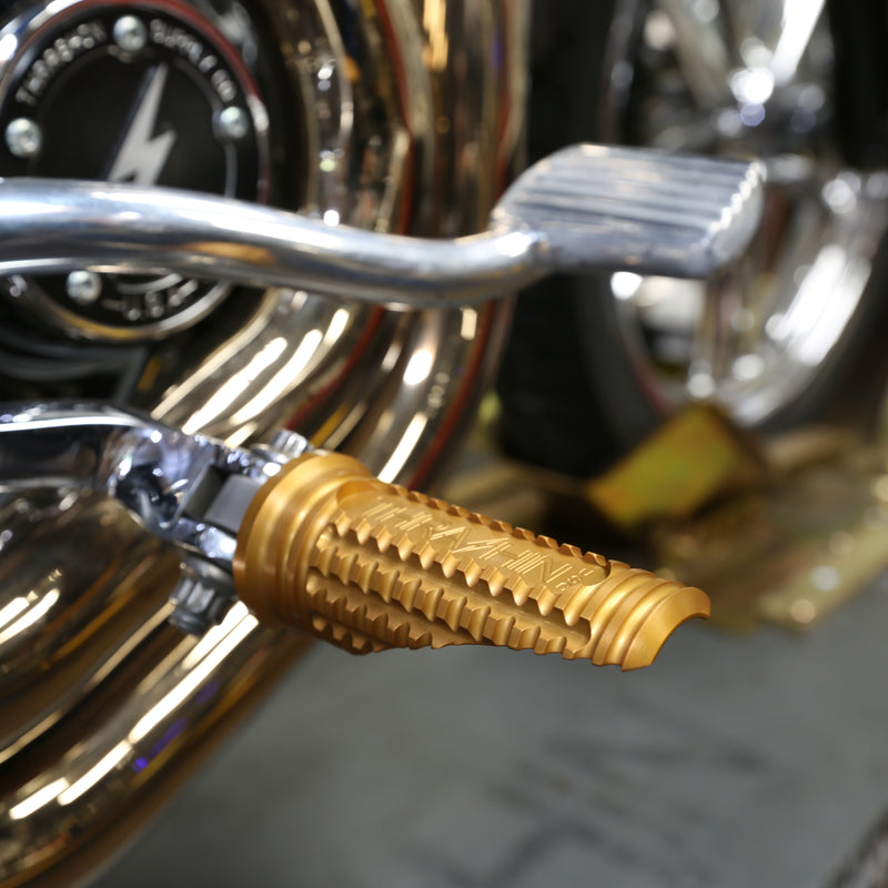 Burnout Pegs - Gold