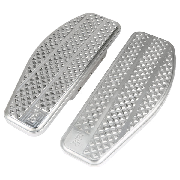 (New) Bagger Passenger Floorboards - Silver