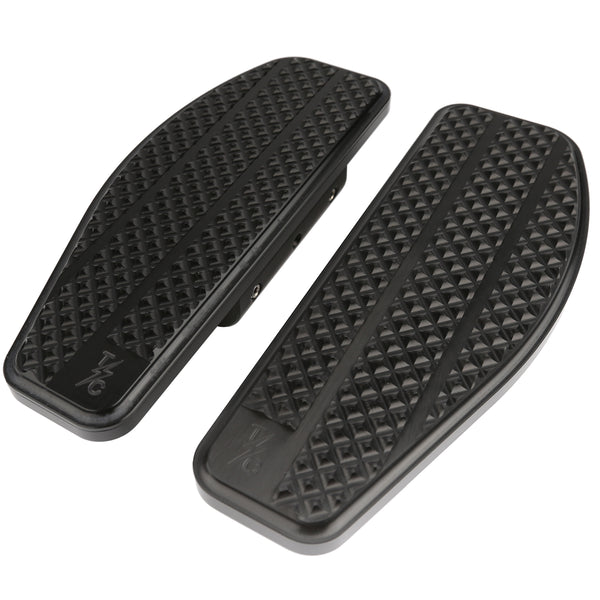 (New) Bagger Passenger Floorboards - Black