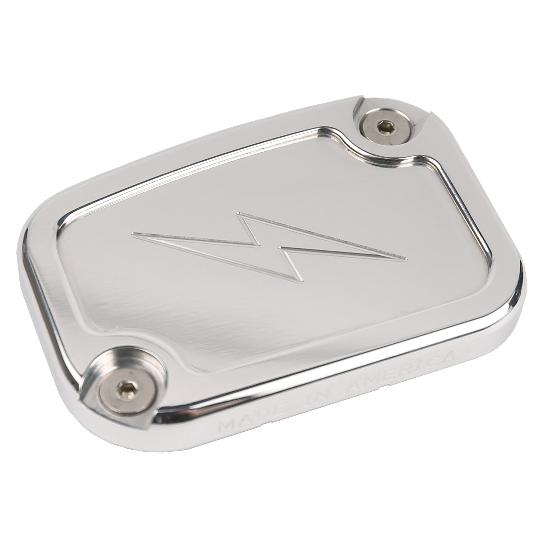 Polished Front Brake Reservoir Cap - Bagger/VRod
