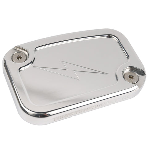 Polished Dished Clutch Reservoir Cap - 14-16 Touring Models