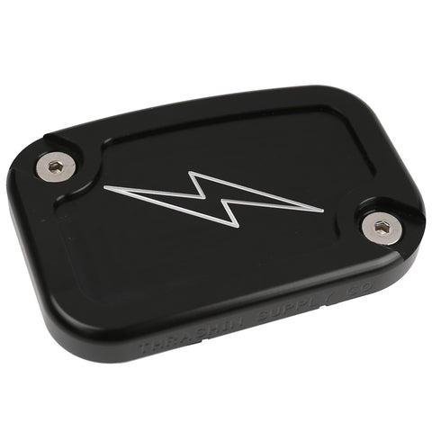 Contrast Dished Clutch Reservoir Cap - 14-16 Touring Models