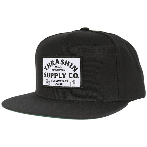 USA Machined Snapback - Black